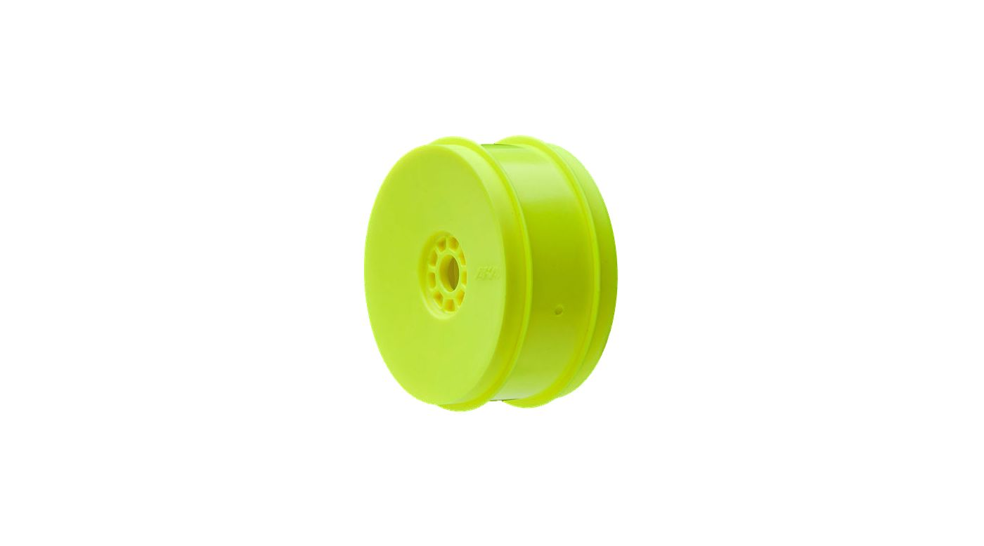 Image for 1/8 EVO Front/Rear Wheels, Yellow: Buggy (4) from HorizonHobby