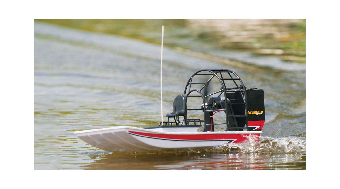 Image for Mini Alligator Tours Airboat RTR from HorizonHobby