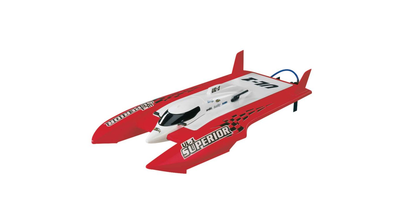 Image for UL-1 Superior FE Hydro RTR Red from HorizonHobby