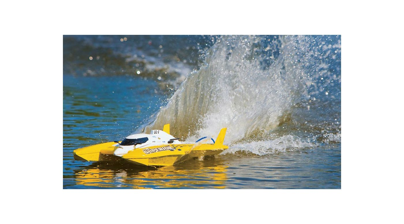 Image for UL-1 Superior FE Hydro RTR Yellow from HorizonHobby