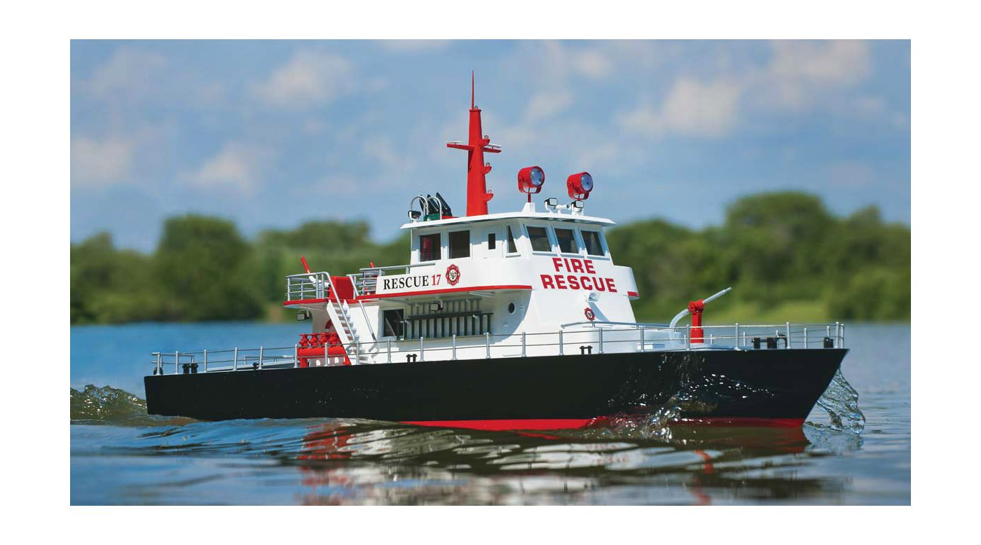 Image for Rescue 17 Fireboat RTR from HorizonHobby