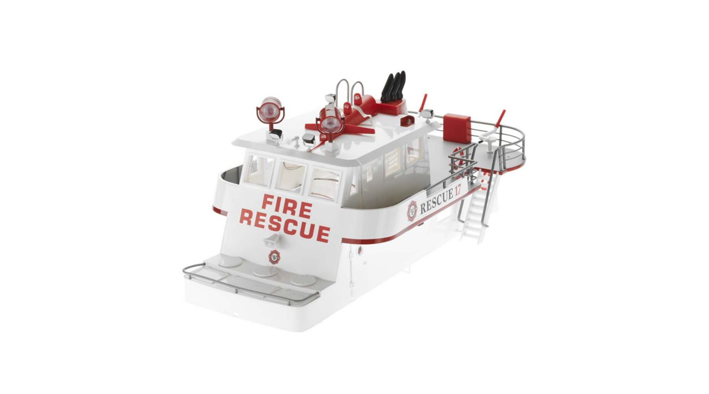 Image for Cabin Super Structure with LED: Rescue 17 from HorizonHobby