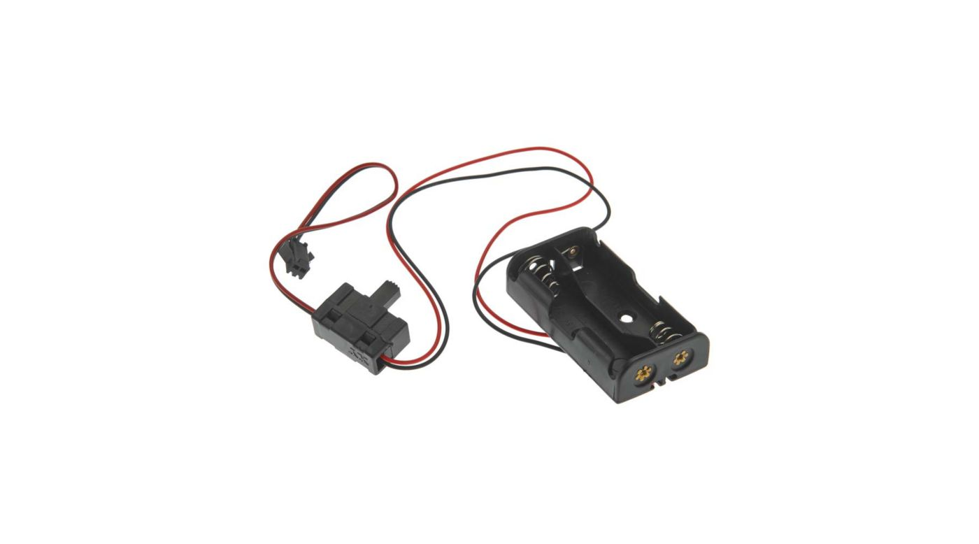 Image for Battery Holder with Switch 2 Cell AA: Rescue 17 from HorizonHobby
