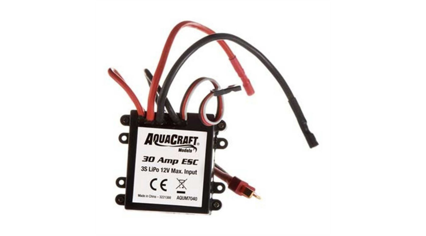 Image for ESC NiMH LiPO 2-3S 30 Amp Brushed Motors from HorizonHobby