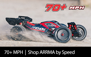 Shop ARRMA by Speed 70 plus mph