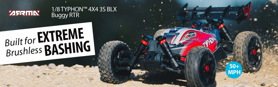 TYPHON 4X4 3S BLX 1/8 RTR Buggy