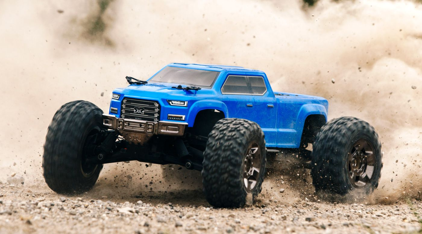 Image for 1/10 BIG ROCK CREW CAB 3S BLX 4WD Brushless RTR, Blue from HorizonHobby