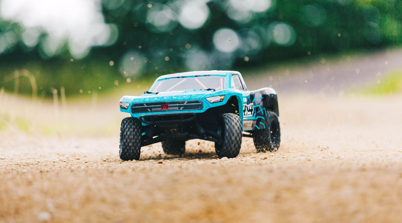 Image for 1/10 SENTON MEGA 550 Brushed 4WD Short Course Truck RTR, Blue/Black from HorizonHobby
