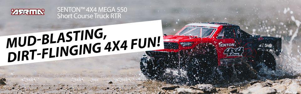 SENTON™ 4X4 MEGA 550 Short Course Truck RTR