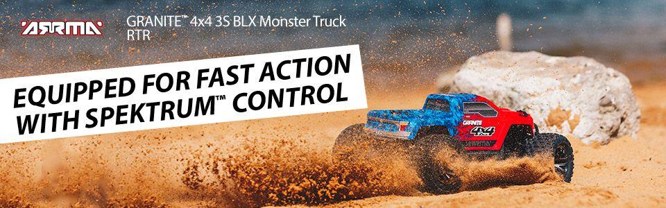 GRANITE™ 1/10 4X4 3S BLX Monster Truck