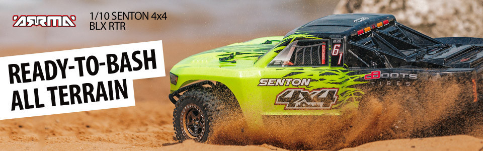 1/10 SENTON™ 4X4 3S BLX Short Course Truck