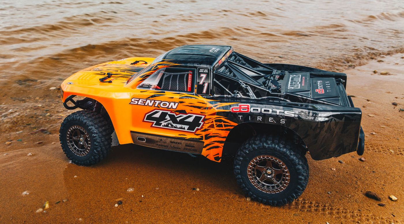 Image for 1/10 SENTON 3S BLX 4WD Brushless Short Course Truck with Spektrum RTR, Orange/Black from HorizonHobby