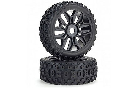 dBoots® 2-HQ Multi-terrain Tires on Tough Multi-spoke Wheels