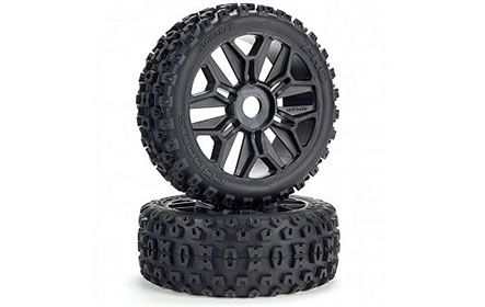 dBoots 2-HQ Multi-terrain Tires on Tough Multi-spoke Wheels