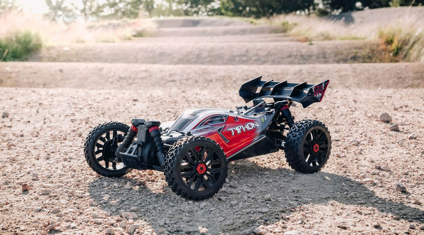 Grafik für 1/8 TYPHON 3S BLX 4WD Brushless Buggy mit Spektrum RTR, Red in Horizon Hobby