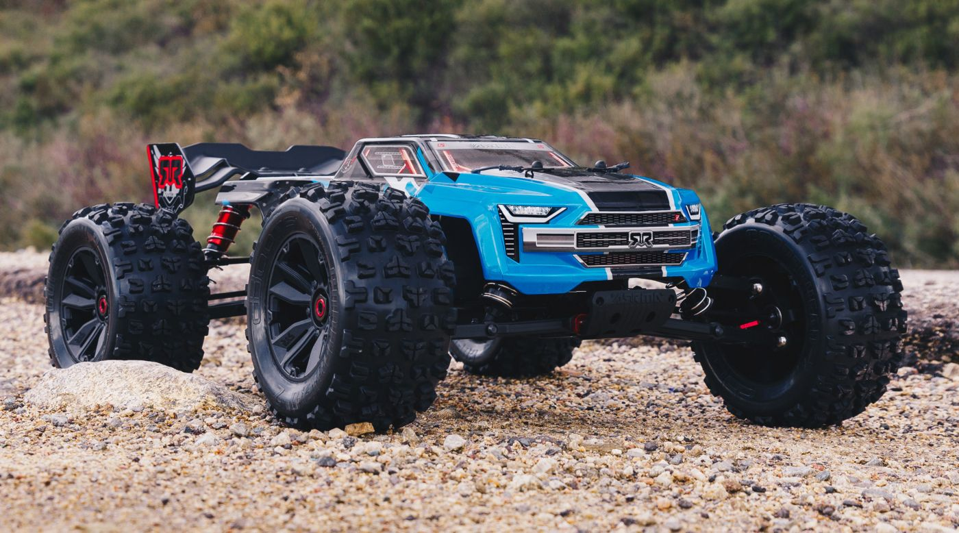 Image for 1/8 KRATON 6S BLX 4WD Brushless Speed Monster Truck with Spektrum RTR, Blue from Horizon Hobby