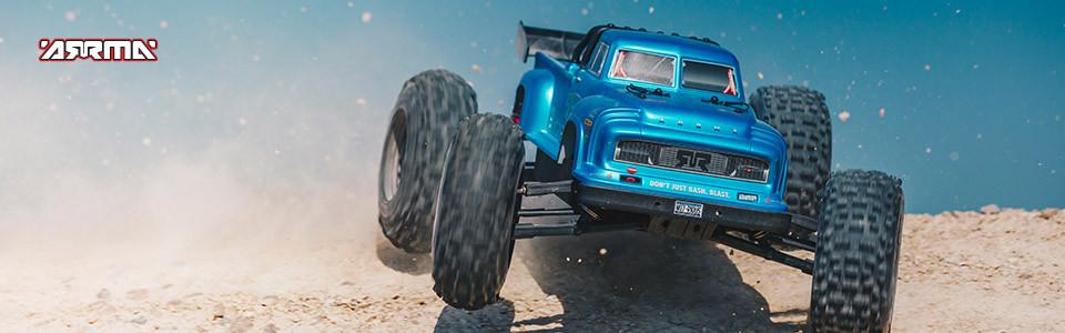 ARRMA NOTORIOUS 6S BLX Stunt Truck 4WD RTR