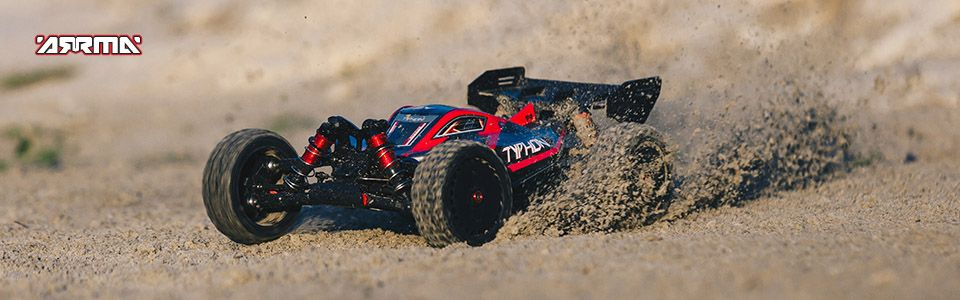 ARRMA TYPHON 6S BLX 4WD 1/8 Speed Buggy RTR