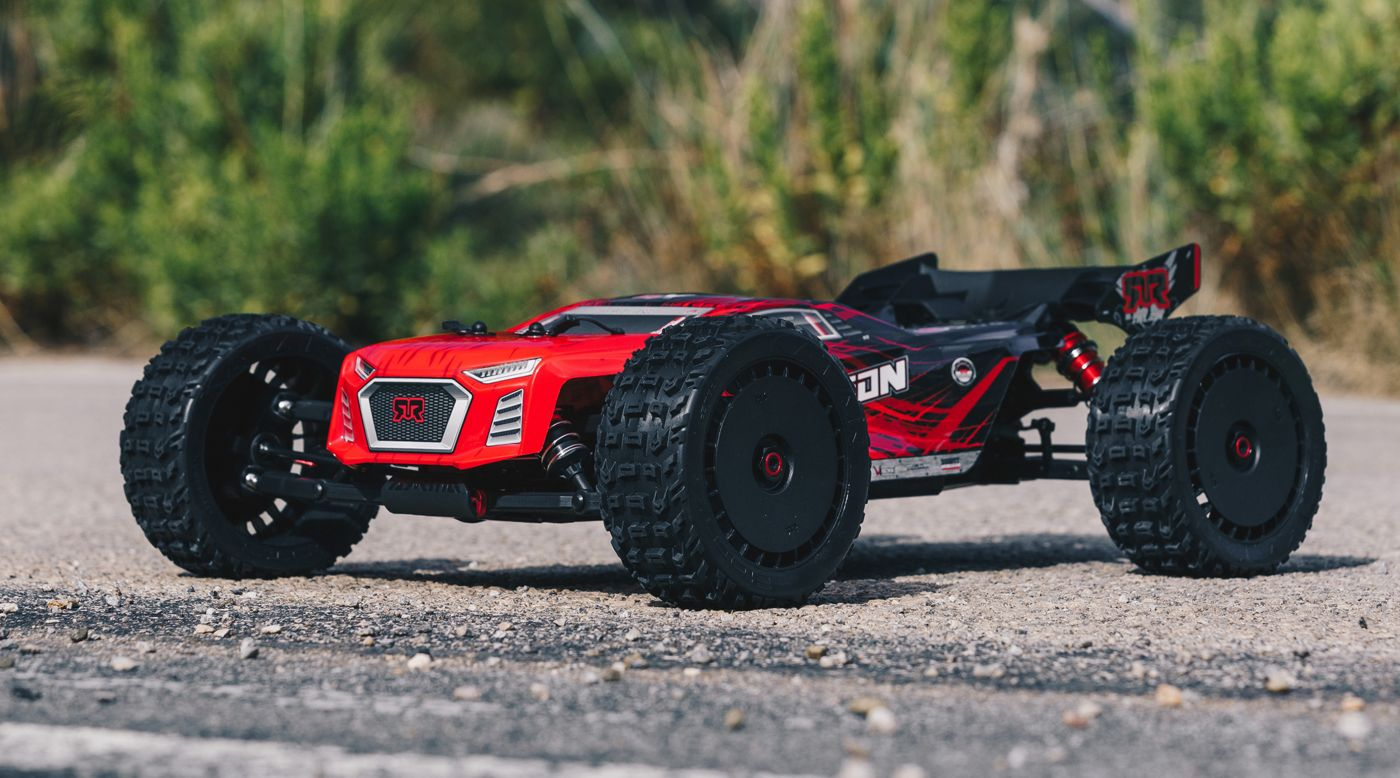 Image for 1/8 TALION 6S BLX 4WD Brushless Sport Performance Truggy with Spektrum RTR, Red/Black from HorizonHobby