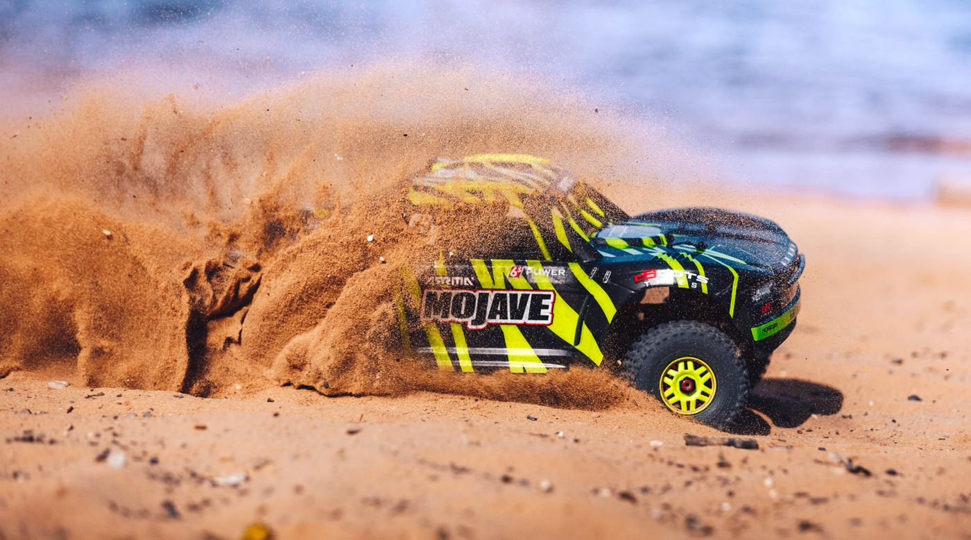 Image for 1/7 MOJAVE 6S BLX 4WD Brushless Desert Truck RTR, Green/Black from Horizon Hobby