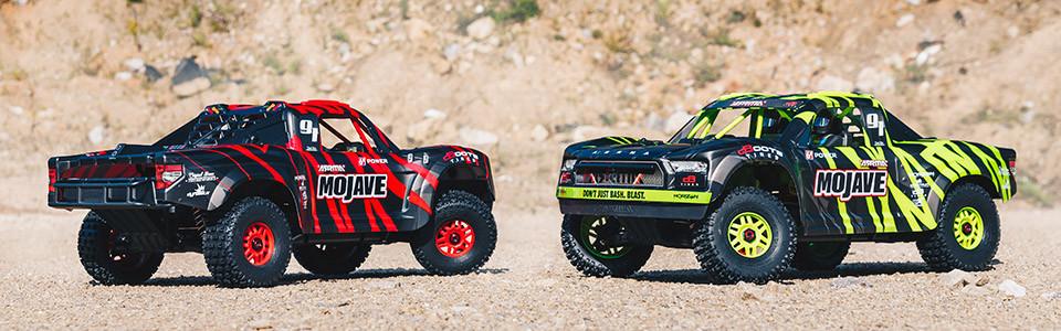 MOJAVE 6S BLX 1/7 Brushless Desert Truck RTR