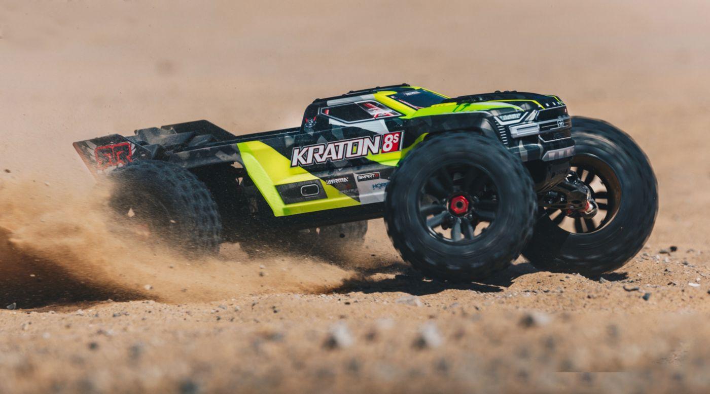 Image for 1/5 KRATON 4X4 8S BLX Brushless Speed Monster Truck RTR, Green from Horizon Hobby