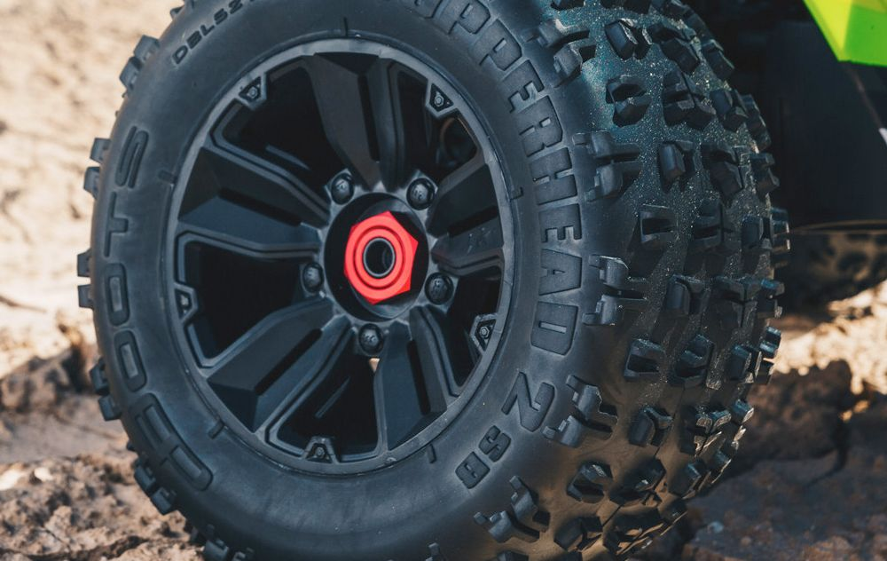 SPLIT-SPOKE WHEELS & MULTI-TERRAIN DBOOTS COPPERHEAD 2 SB TYRES