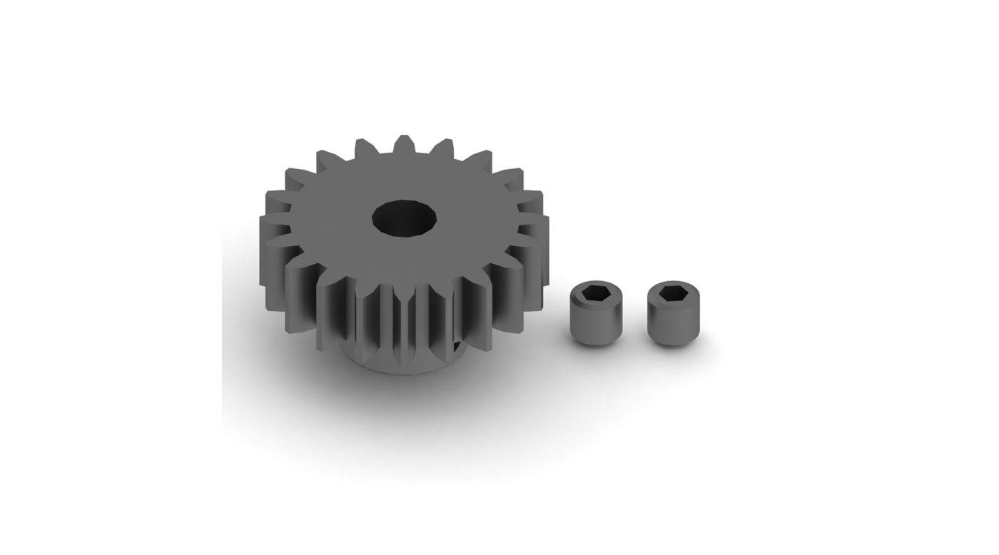 Image for 20T Mod1 Pinion Gear from HorizonHobby