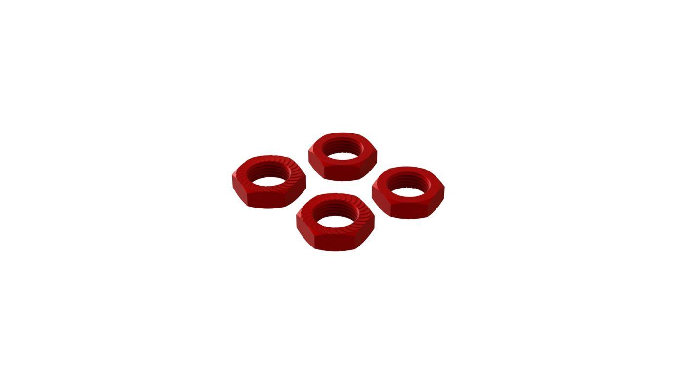 Grafik für Aluminum Wheel Nut 17mm Red (4) in Horizon Hobby