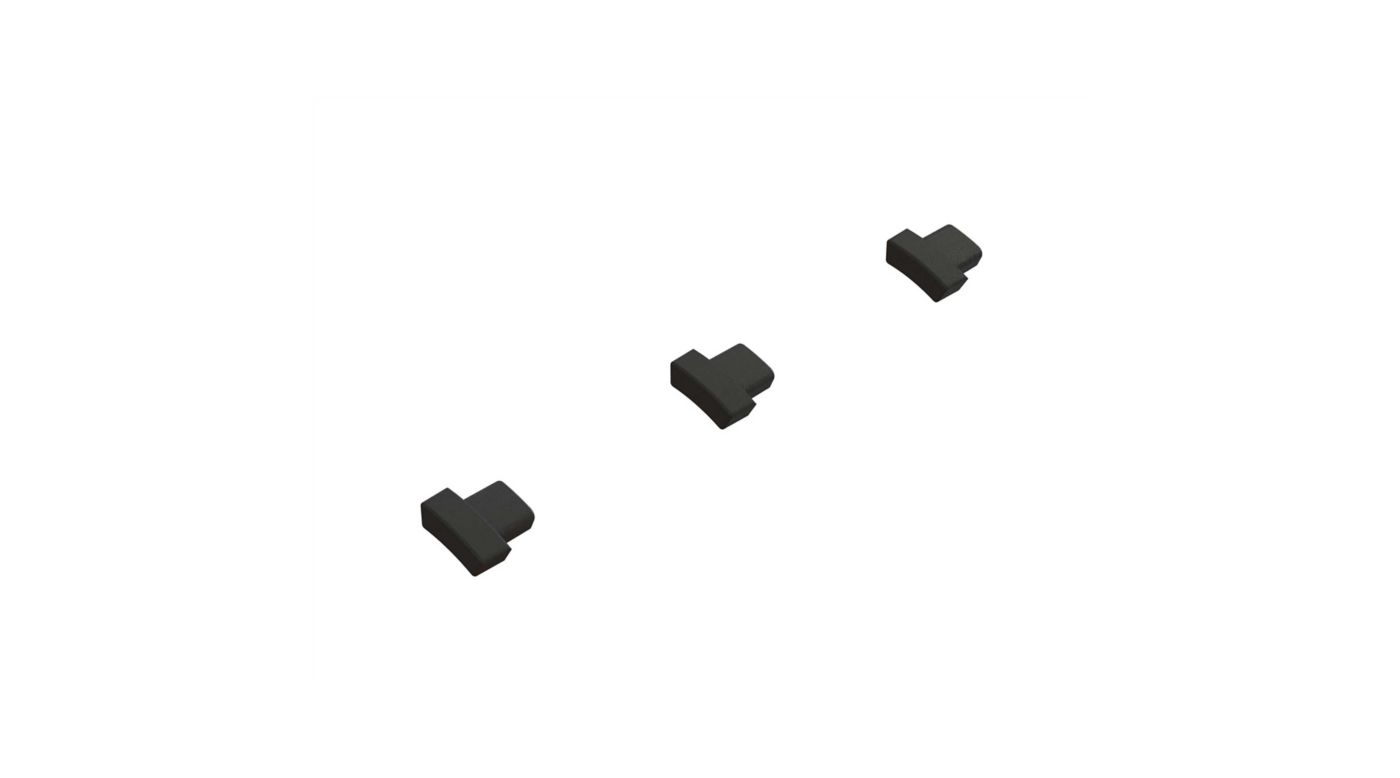 Image for Center Diff Gear Spacer (2) from HorizonHobby