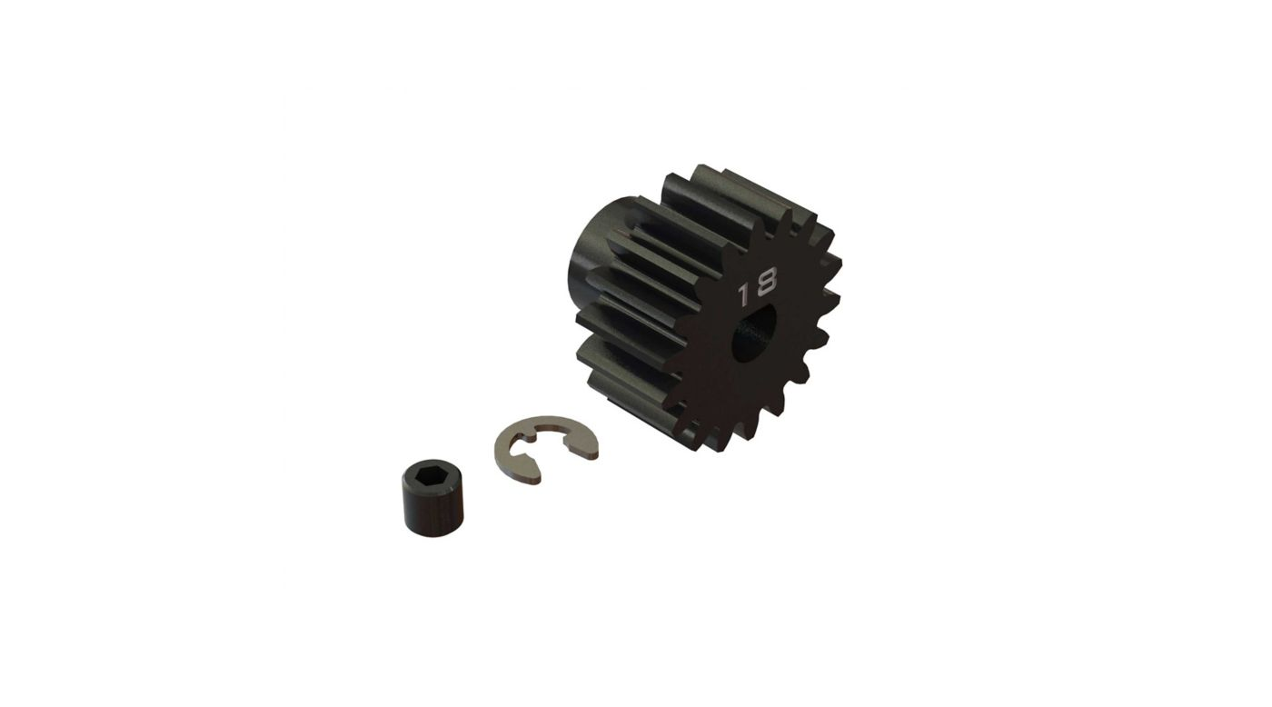 Image for Pinion Gear, 18T HD Mod1 Safe-D5 from HorizonHobby
