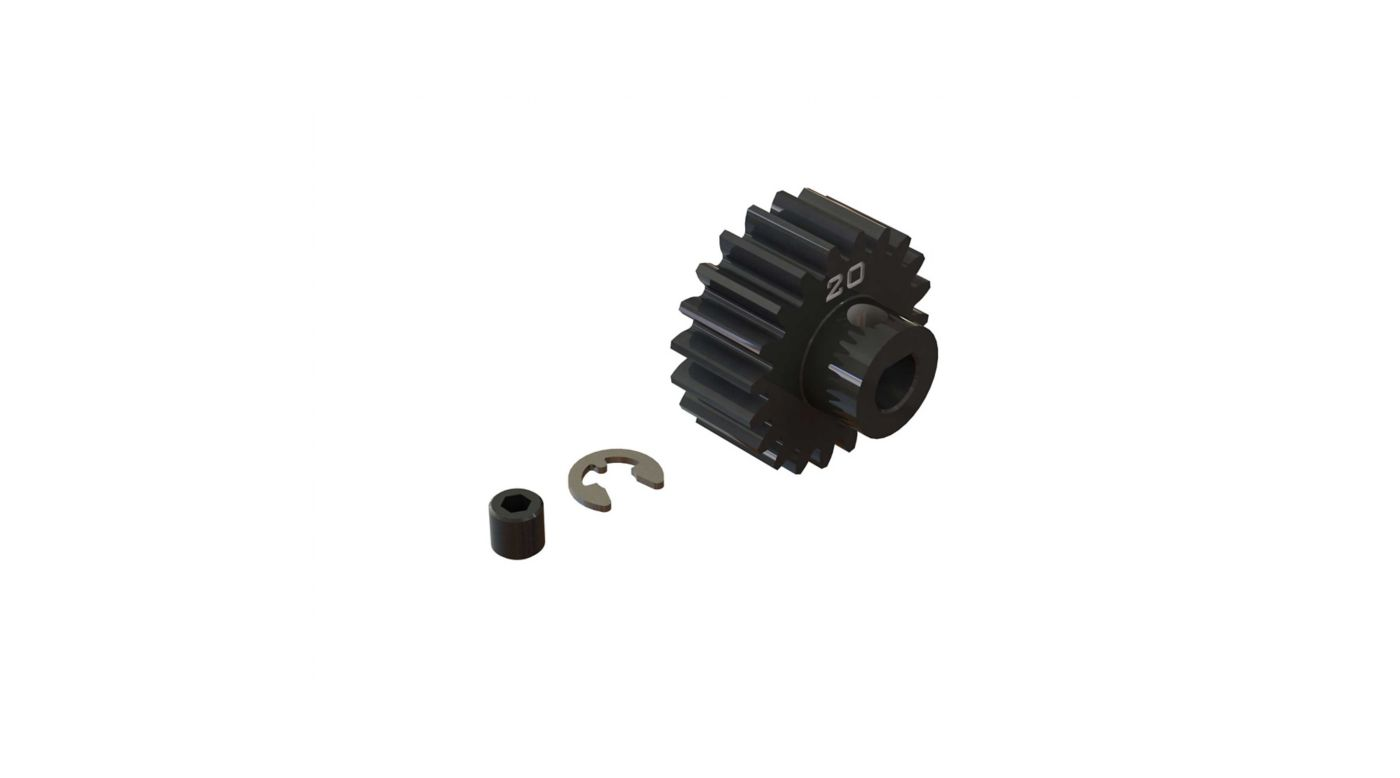 Image for Pinion Gear, 20T HD Mod1 Safe-D5 from HorizonHobby