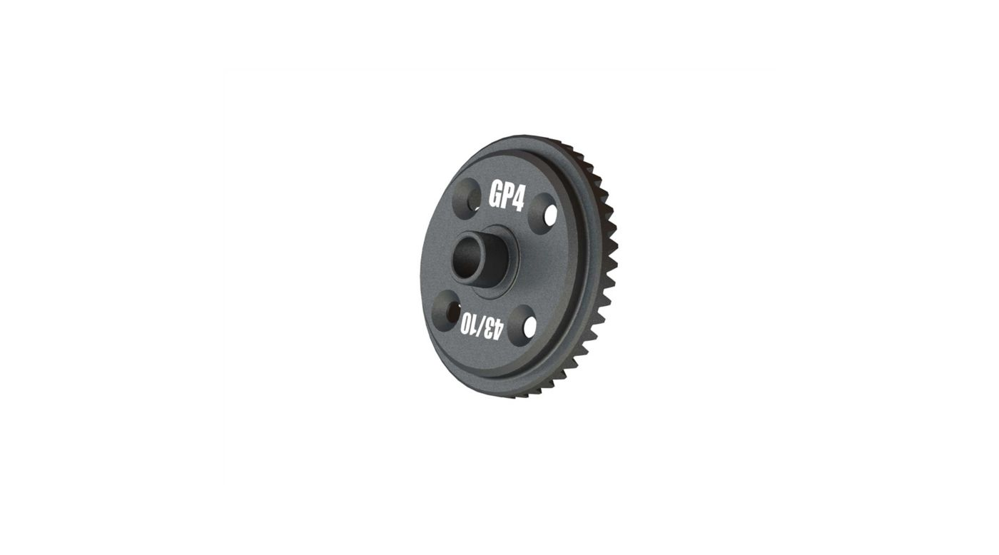 Image for Main Diff Gear, 43T Spiral GP4 5mm from Horizon Hobby
