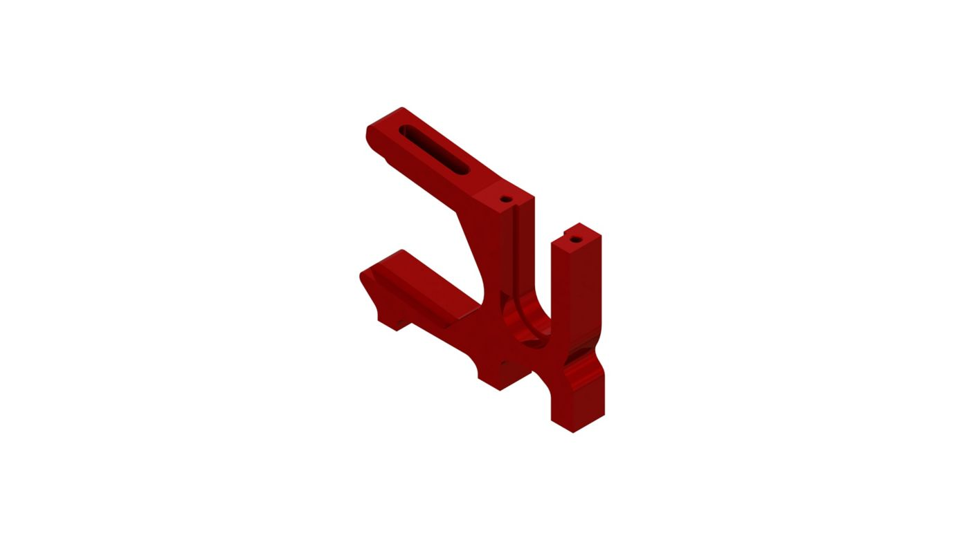 Image for Sliding Motor Mount, Red from Horizon Hobby