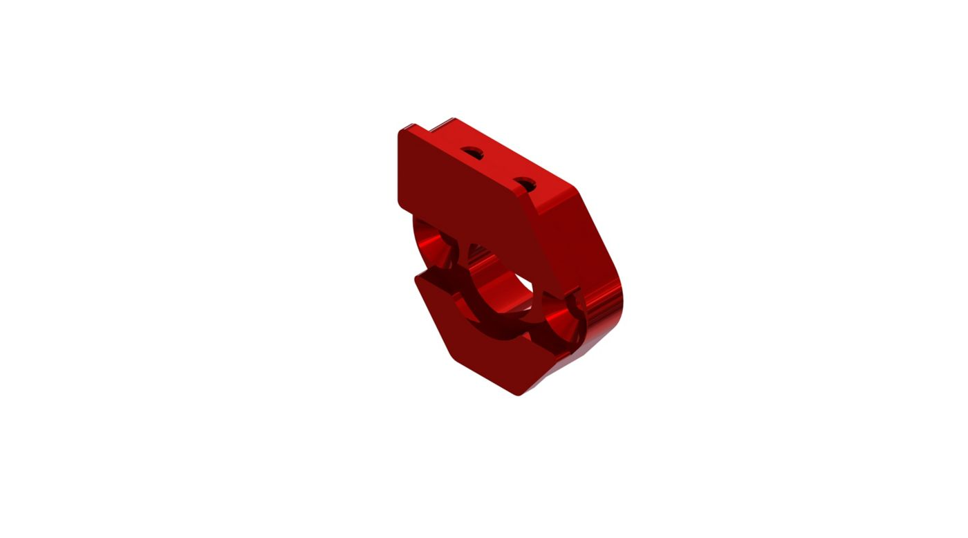Image for Sliding Motor Mount Plate, Red from HorizonHobby