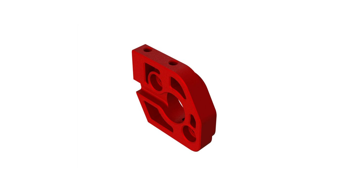 Image for Aluminum Motor Plate, Red from HorizonHobby
