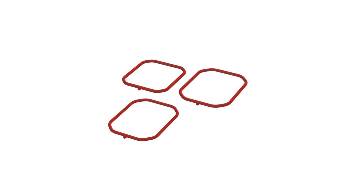 Image for Gearbox Silicone Seal Set (3) from HorizonHobby