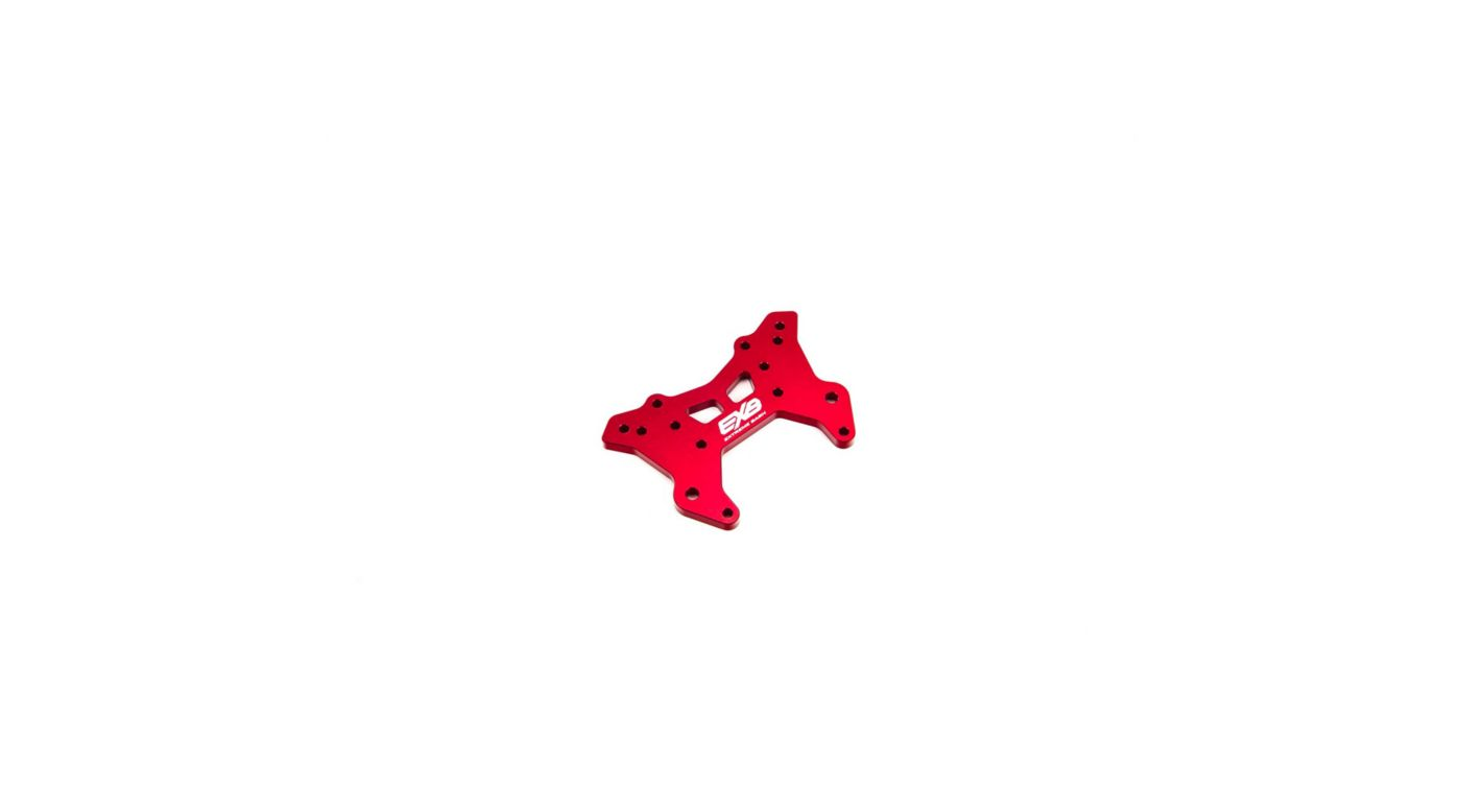 Image for Front Aluminum Shock Tower CNC 7075 T6 RS, Red from Horizon Hobby