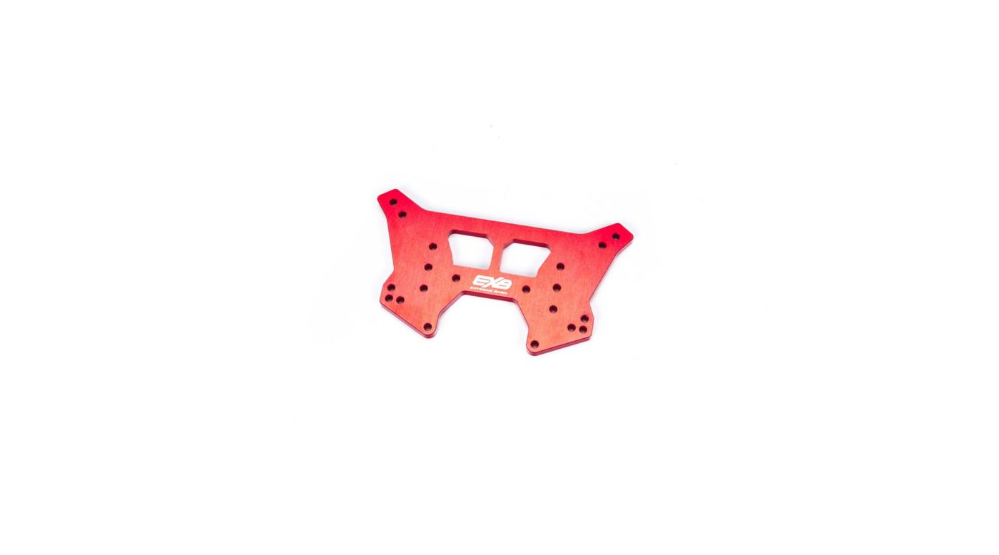 Image for Rear Aluminum Shock Tower CNC 7075 T6 RS, Red from Horizon Hobby