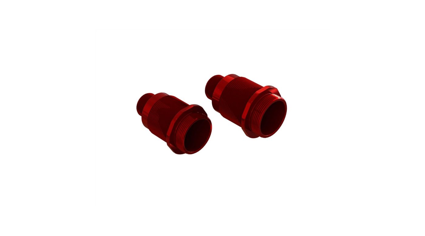 Image for Aluminum Shock Body, 16x36mm (2) from HorizonHobby