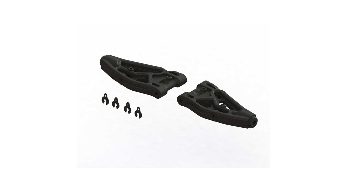 Image for Front Lower Suspension Arms 100mm (1 Pair) from HorizonHobby