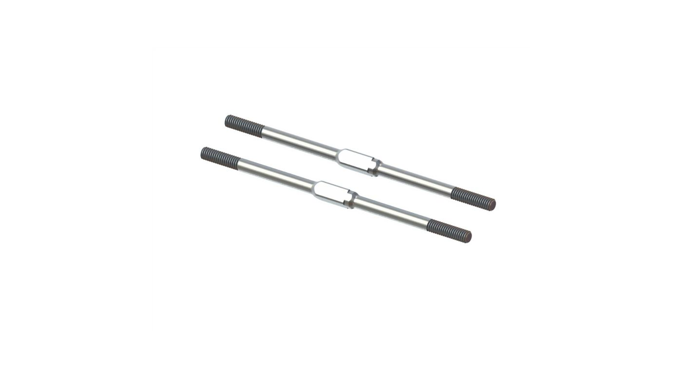 Image for Steel Turnbuckle, M4x95mm Silver (2) from Horizon Hobby