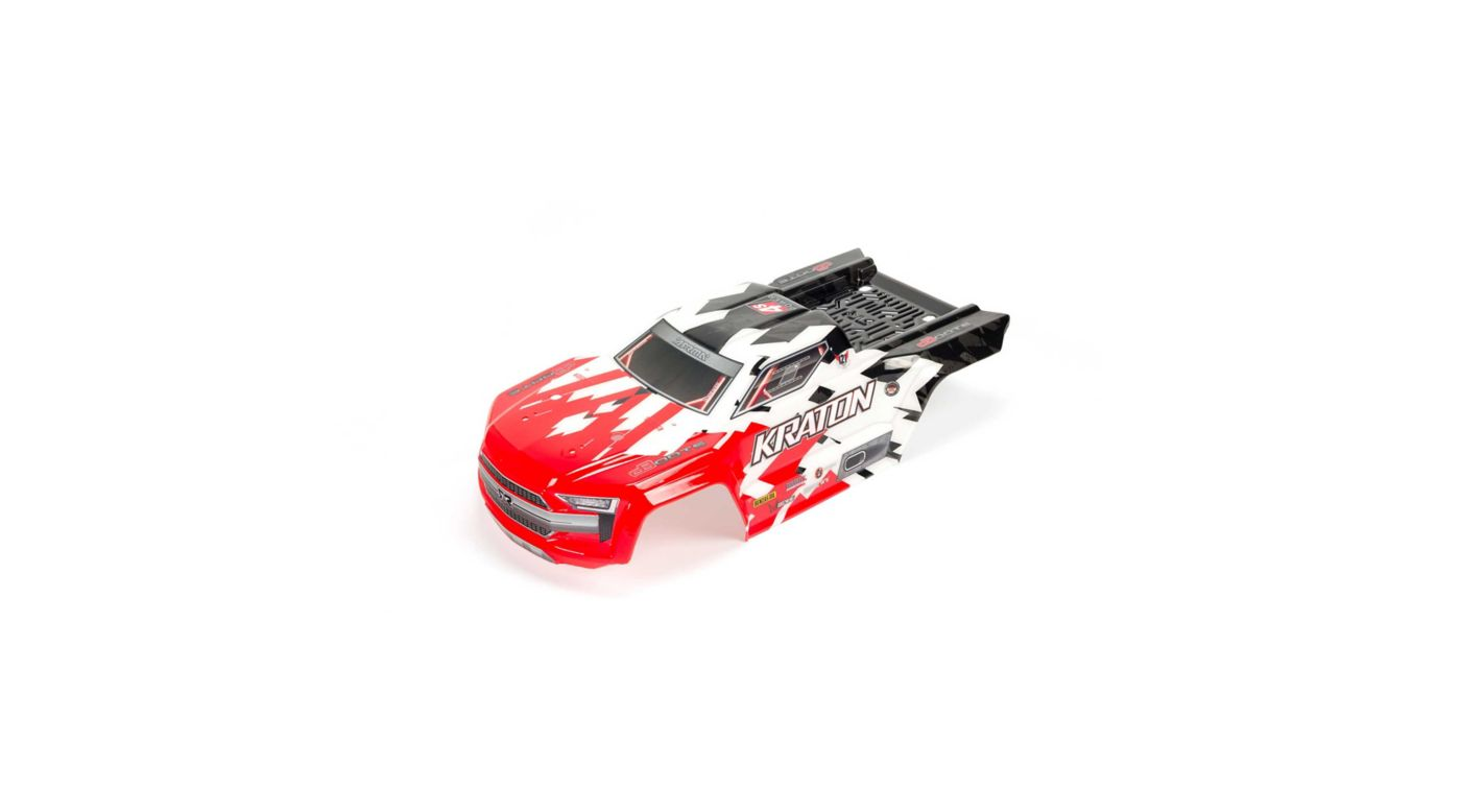 Image for Kraton 4x4 BLX Painted Decaled Trimmed Body Red from HorizonHobby