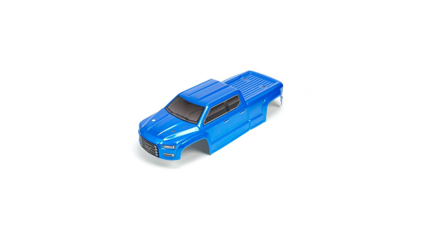 Image for Painted DCLD Trimmed Body, Blue: BIG ROCK CREW CAB 4X4 from HorizonHobby