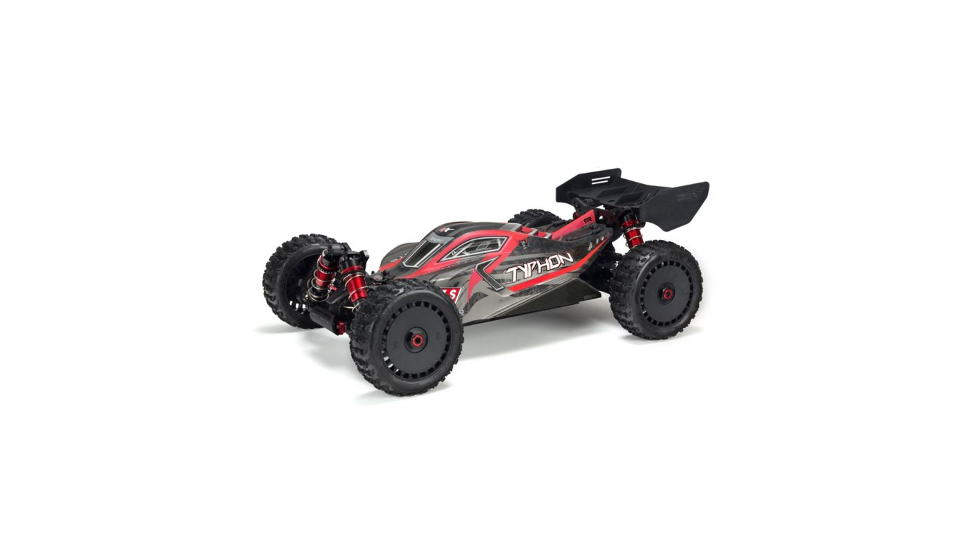 Image for Body Painted with Decals Typhon 6S Black Red from HorizonHobby