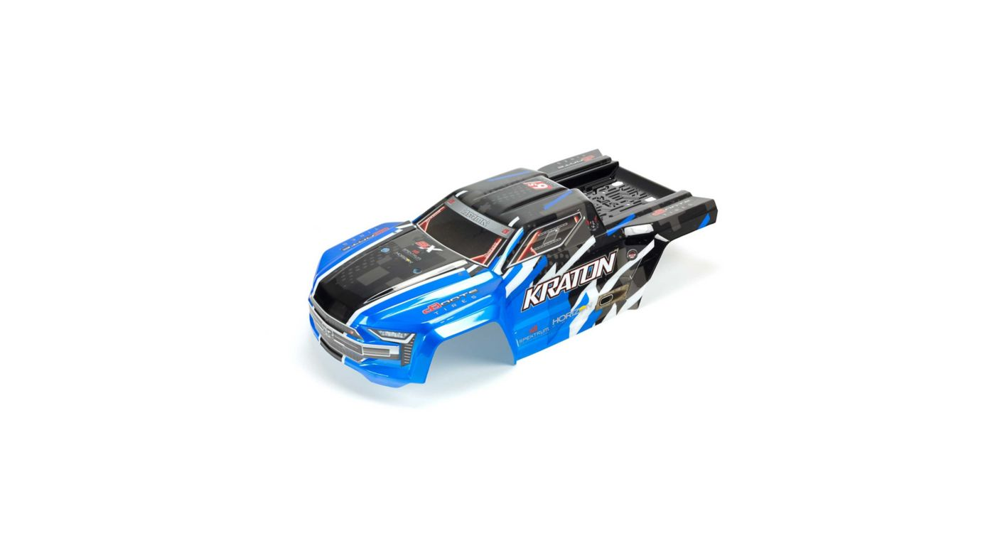 Image for Painted, Decaled and Trimmed Body, Blue: Kraton 6S BLX from HorizonHobby