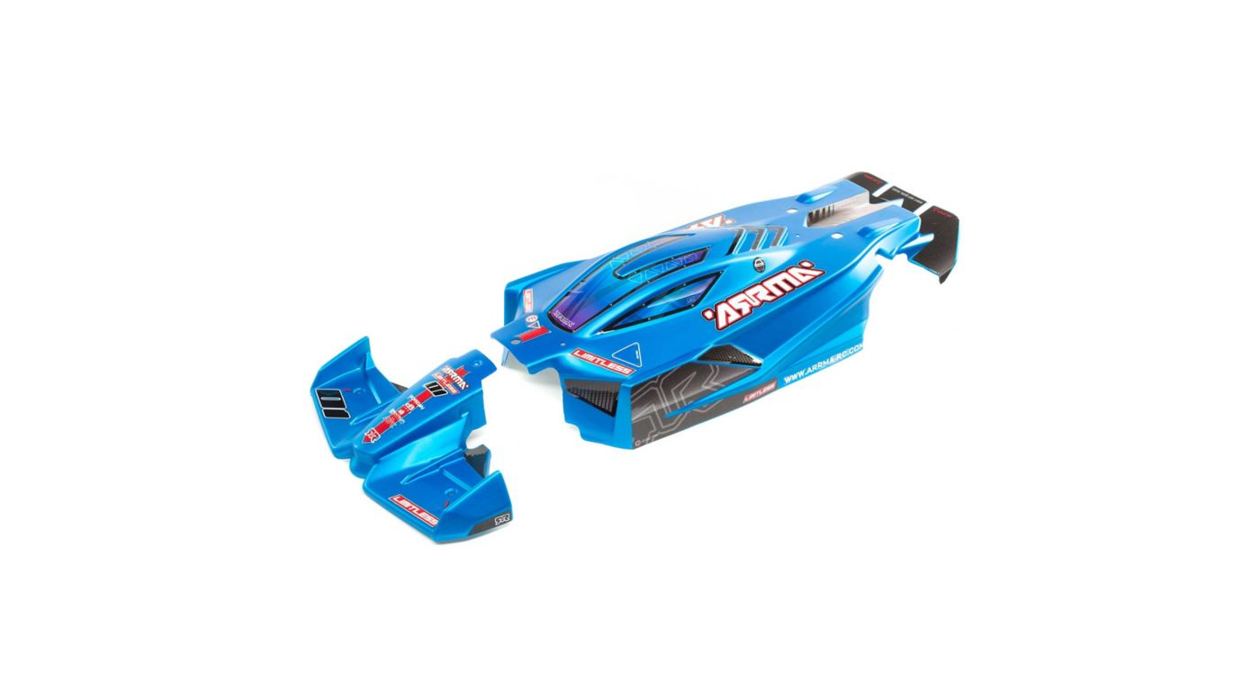 Image for Finished Body, Matte Blue: Limitless 6S BLX from HorizonHobby