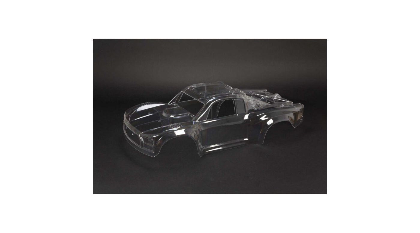 Image for Clear Body Shell with Decals: MOJAVE 6S BLX from HorizonHobby
