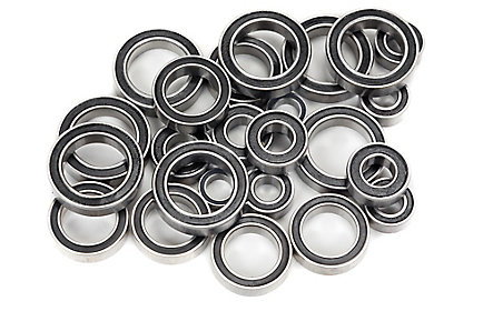 Rubber shielded bearings