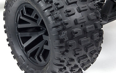 Multi-terrain dBoots Fortress MT tyres